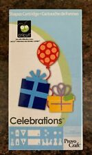 Cricut Cartridge - Celebrations - Images, Phrases and More