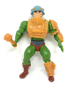 🔥 Man At Arms Masters of the Universe MOTU He-Man 1981 Complete Loose Figure 🔥