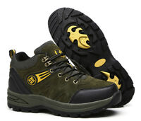 MOSW Hiking Boots 8cm Taller Height Increasing Shoes