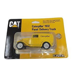 ERTL 1932 Ford Model A Panel Delivery Truck Caterpillar CAT 1/43 Replica 1989