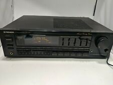PIONEER SX-240 AM/FM Stereo Receiver EQ Phono In