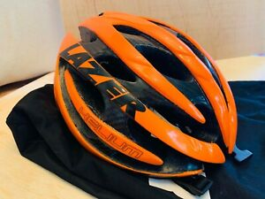 Lazer Helium Orange Road cycling helmet MIPS Medium 54-56 CM
