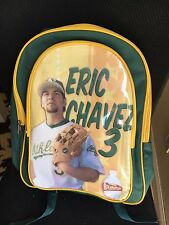 Eric Chavez Oakland A's Athletics backpack bag 2002 SGA