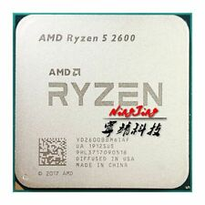 AMD Ryzen 5 2600 R5 2600 3.4 GHz Six-Core Twelve-Core 65W CPU Processor YD2600BB