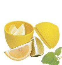 Porta Limone Contenitore Salvafreschezza Salva Limone 12x8cm Giallo Cucina dfh
