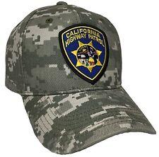 California Highway Patrol Hat Color Digital Green CHP Hat AdjustableHAT