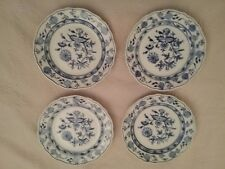 4 MEISSEN BLUE ONION Plates 8.25""