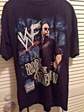 WWF Rock the Millennium T-Shirt XL Dwayne Johnson  WWE WCW 2000 The Rock