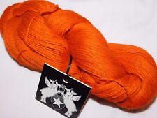 Marigold TANGERINE 8oz 660yd Galler HEATHER PRIME Superfine ALPACA Soft DK YARN