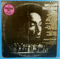 A TRIBUTE TO WOODY GUTHRIE 2X LP 1972 PROMO DYLAN GREAT CONDITION! VG++/VG!!