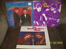 3 EVERLY BROTHERS ALBUM LOT The Show, 20 Greatest Hits, EB 84 ALL EXC-/EXC