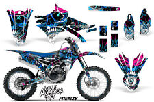 AMR Racing Yamaha YZ 250/450F Graphics # Plate Kit MX Bike Decal 14-16 FRENZY U