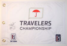 JIM FURYK - 58 - Signed - TRAVELERS CHAMPIONSHIP - Golf Flag
