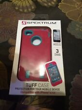 IPhone 4/4S tuff Case by Spektrum, Pink &blue New in Box