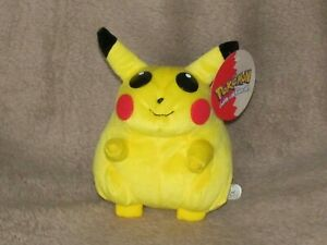 Vintage Official Nintendo POKEMON Pikachu 2000 Made by Plush toys Play By Play