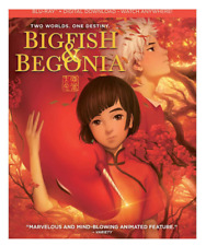 Big Fish & Begonia (Blu-ray, Dvd, Digital, Slipcover(See Details) Brand New