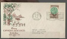 Canada - Natural Resources - 395 Fdc - Capital Cachet - 1961