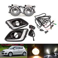 For Suzuki Swift 2014-16 Daytime Running Light DRL Fog Lamp Switch Kit Front L R