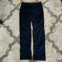 Womens Banana Republic Martin Fit Straight Leg Navy Blue Dress Pants Slacks SZ 2