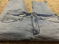 NYDJ NOT YOUR DAUGHTER'S JEANS CAPRI DESIGNER WOMENS SIZE 16 W