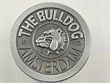 The Bulldog Amsterdam Grinder Gewürzmühle Metall 4-teilig silber Kräutermühle
