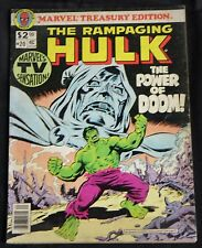 Vintage Marvel Treasury Edition #20 Rampaging Hulk 6.5 Doctor Doom Avengers