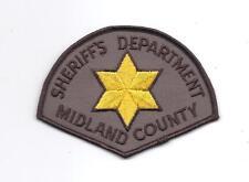 **MIDLAND COUNTY MICHIGAN SHERIFF POLICE PATCH**