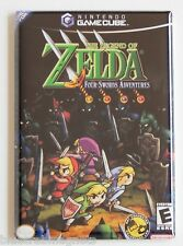 Legend of Zelda Four Swords FRIDGE MAGNET (2 x 3 inches) video game box