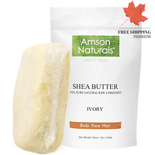 African Pure Raw Shea Butter Unrefined For Dry Body And Skin Chemical Free Care
