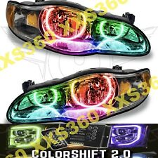ORACLE Halo 2x HEADLIGHTS for Chevrolet Monte Carlo 00-05 LED COLORSHIFT 2.0