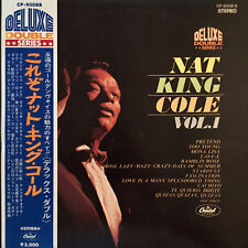 JAPAN ONLY OBI RED WAX NAT KING COLE NAT KING COLE VOL.1 CP-9308B LP VINYL EX