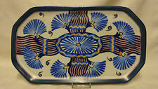 1930's Rare Art Deco Carlton Ware Handcraft Flowering Papyrus 3242 Trinket Tray