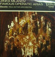 Zinka Milanov(Vinyl LP)Famous Operatic Arias-RCA-VICS 1198-UK-VG/NM