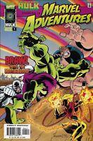 Marvel Adventures Comic 4 With Incredible Hulk First Print 1997 Ralph Macchio