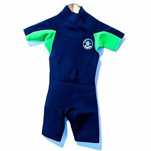 Realon Kids XS Wetsuit Neoprene Thermal Shorty Scuba Diving Snorkel Swimming
