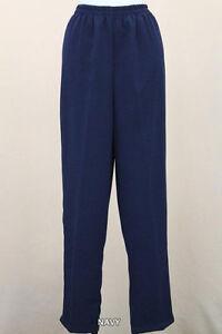 Ladies Navy Pants 1309
