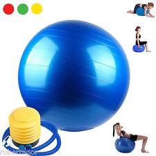 Gymball Balón Para Ejercicios Abdominales Yoga Pilates Fitness Gimnasio Embarazo