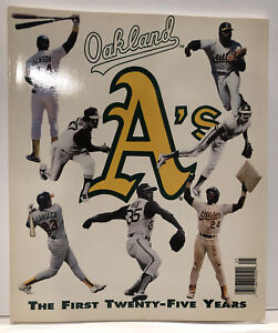 1992 Oakland A's Yearbook Baseball 25 Years Athletics Jose Canseco Mark McGwire