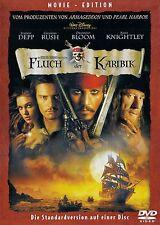 "FLUCH DER KARIBIK (""PIRATES OF THE CARIBBEAN: THE CURSE OF THE BLACK PEARL"") DVD"
