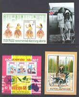 BRITISH COLONIAL 2 SCANS SOUND VF COLLECTION LOT OG NH U/M MOSTLY SHEETS