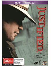 Justified : Season 1-6 (DVD, 2015, 18-Disc Set)
