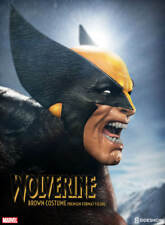 X-MEN~WOLVERINE~BROWN COSTUME~LE 2500~PREMIUM FORMAT FIGURE~SIDESHOW~MIB