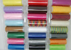 24 Colors 200M Spools Cotton Blends Sewing Machine Thread Reel Cord String