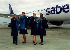 SABENA BELGIAN AIRLINES STEWARDESS CABIN CREW FLIGHT ATTENDANT UNIFORM 1999
