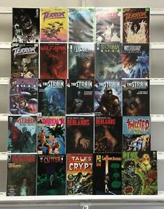 Tales Of Terror  The Strain  Redlands Twisted Tales Dark Horse Eclipse 25 Lot