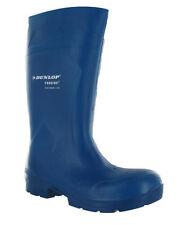 Bottes bleues Dunlop pour homme