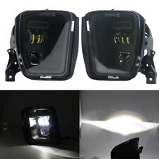 Black Bumper LED Fog Lights for Dodge Ram 1500 2013 2014 2015 2016 2017 2018