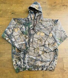 Russell Outdoor Camo Hoodie Men's XXL 2XL Realtree Camouflage Sweatshirt NWOT