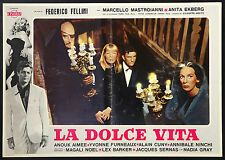CINEMA-fotobusta LA DOLCE VITA a. ekberg, F. FELLINI