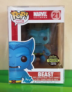 Funko Pop Marvel Flocked Beast Gemini EXCLUSIVE (LIMITED to 240 PCS. Only)